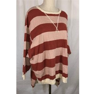 Free People Surfin' On Your Stripes Sweater XS/S